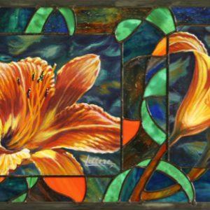 tableau-vitrail, Tableau-Vitrail | PLEIN SOLEIL, Nature2Art.com