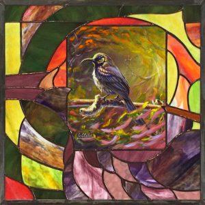 tableau-vitrail, Tableau-Vitrail | LAC SOUMIRE, Nature2Art.com