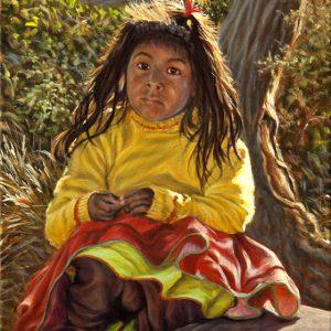 Pérou-Portrait d'art