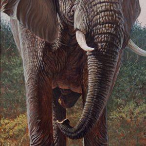 ÉLÉPHANT D'AFRIQUE-Art