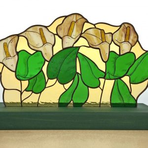 Vitrail, Vitrail | CINQ CALLAS AMBRE, Nature2Art.com