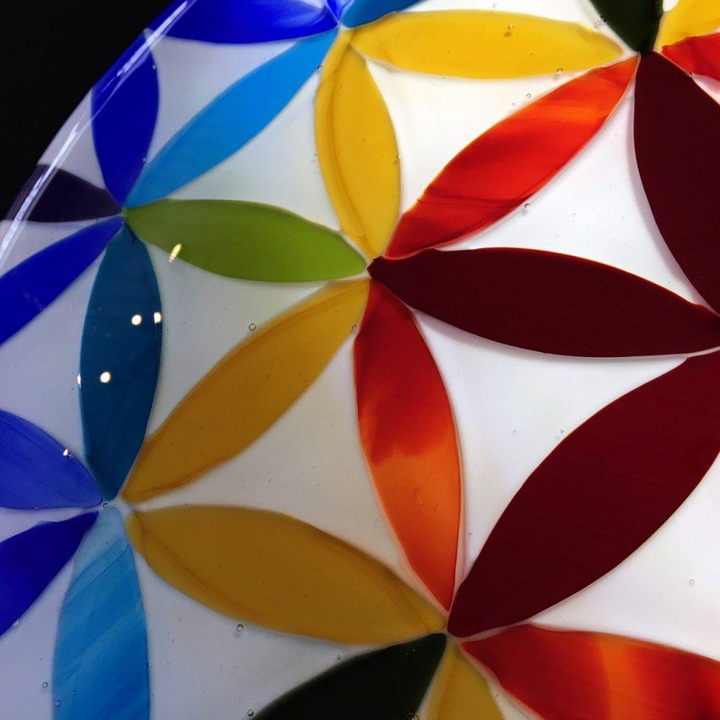 Atelier création fusion de verre