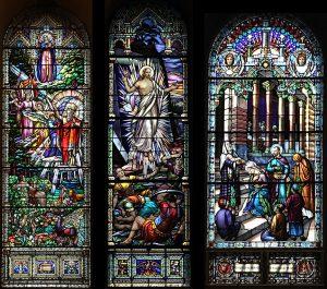 Vitraux de l'Église de Saint-Léon